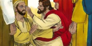Jesus Healed a Blind Man