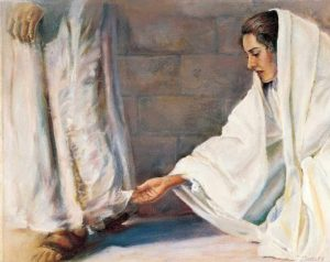 Jesus Heals a Woman and a Girl